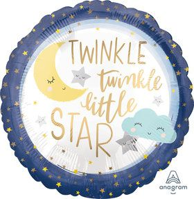 "Twinkle Little Star 18"" Balloon (1)"