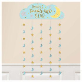 Twinkle Little Star Party Backdrop Decoration