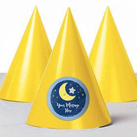 Twinkle Little Star Personalized Party Hats (8 Count)
