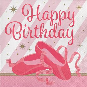 Twinkle Toes Happy Birthday Luncheon Napkin (16)