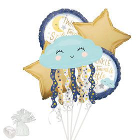 Twinkle Twinkle How We Wonder Gender Reveal Balloon Bouquet Kit
