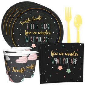 Twinkle Twinkle How We Wonder Standard Tableware Kit (Serves 8)