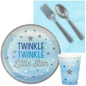 Twinkle Twinkle Little Star Blue Snack Party Pack