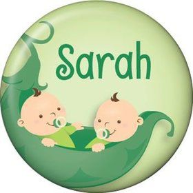Twin's 1st Birthday Personalized Mini Magnet (each)
