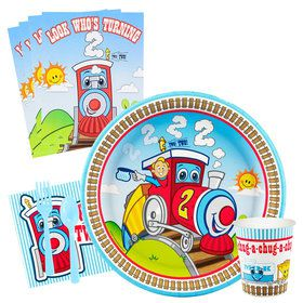 Two-Two Train 2nd Birthday Party Packs
