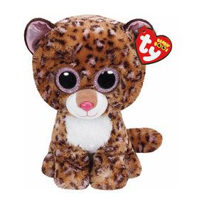 Ty Beanie Boo Patches Leopard Plush (Medium)