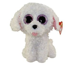 Ty Beanie Boo Pippie Dog Plush (Medium)