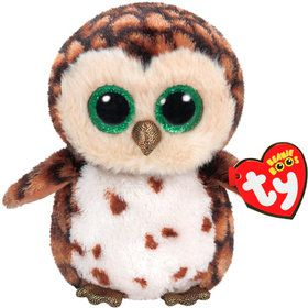 Ty Beanie Boo Sammy Owl Plush (Medium)