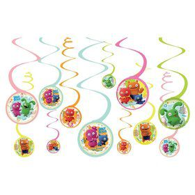 Ugly Dolls Movie Spiral Hanging Decorations
