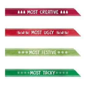 Ugly Sweater Award Sashes (4)