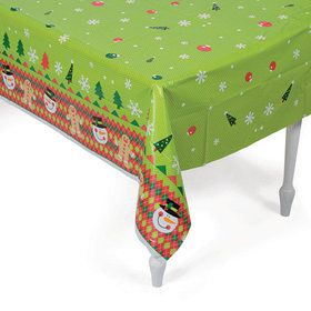 Ugly Sweater Plastic Tablecover (1)