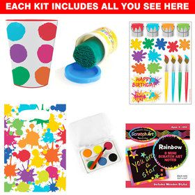 Art Party Favor Kit (Each)