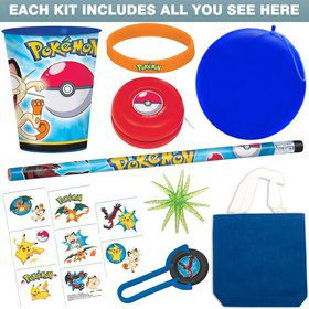 Ultimate Pokemon Party Favor Kit