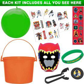 Ultimate Power Rangers Favor Kit (For 1 Guest)
