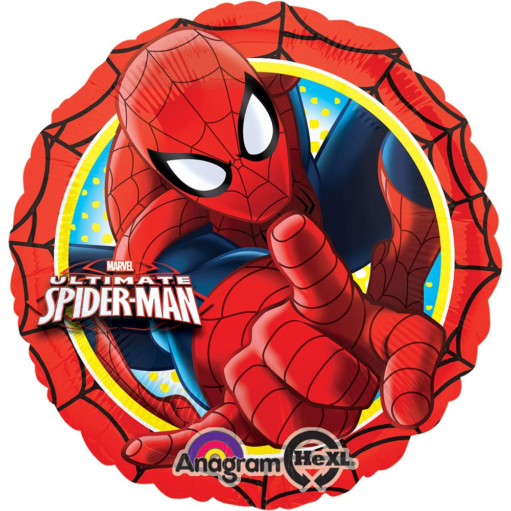 "Ultimate Spiderman Action 17"" Foil Balloon (Each) - Party Supplies BB59775"