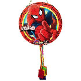 Ultimate Spiderman Pull String Economy Pinata