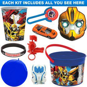 Ultimate Transformers Party Favor Kit
