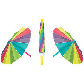 "Umbrella 15"" Paper Decorations (3 Pack)"