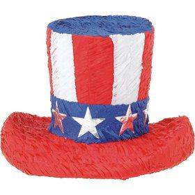 Uncle Sam Hat Pinata (Each)
