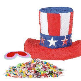 Uncle Sam Hat Pinata Kit (Each)