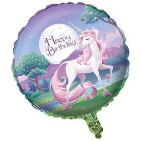 "Unicorn Fantasy 18"" Balloon (Each)"