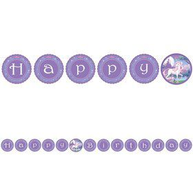 Unicorn Fantasy 6.5 ft. Ribbon Banner (Each)