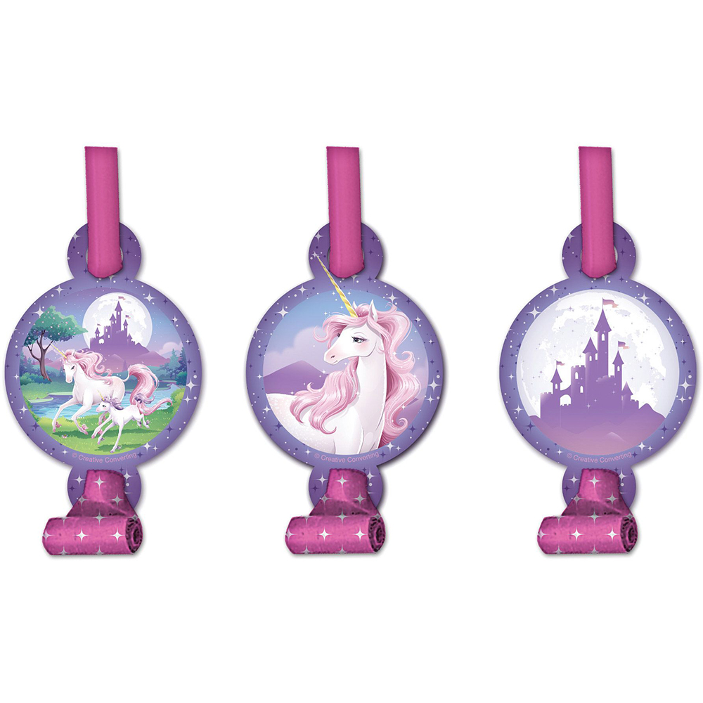 Unicorn Fantasy Blowouts (8 Pack) - Party Supplies BB025603