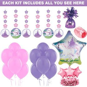 Unicorn Fantasy Decoration Kit