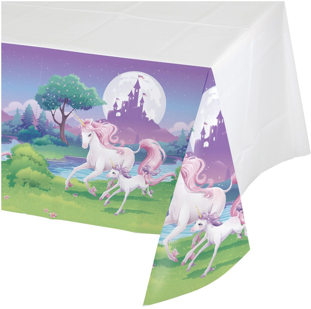 Unicorn Fantasy Plastic Table Cover (Each) BB725603