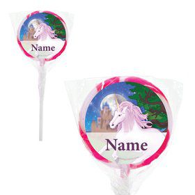 "Unicorn Fun Personalized 2"" Lollipops (20 Pack)"
