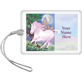 Unicorn Fun Personalized Bag Tag (Each)