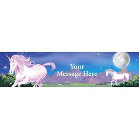 Unicorn Fun Personalized Banner (Each)