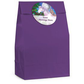 Unicorn Fun Personalized Favor Bag (12 Pack)
