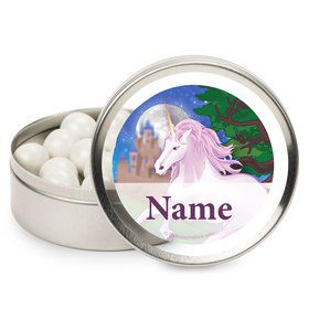Unicorn Fun Personalized Mint Tins (12 Pack)