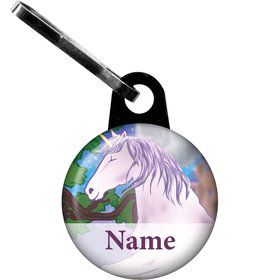 Unicorn Fun Personalized Zipper Pull (Each)