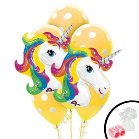 Unicorn Jumbo Balloon Bouquet