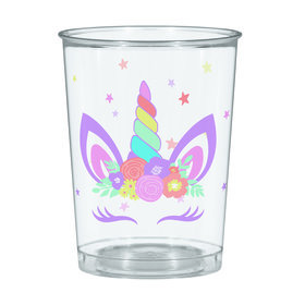 Unicorn Party 16oz Plastic Favor Cups (Each)