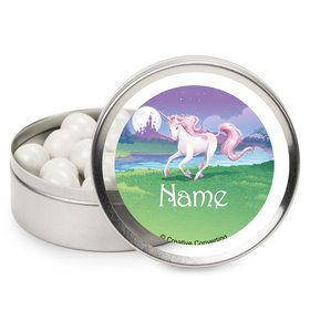 Unicorn Personalized Mint Tins (12 Pack)