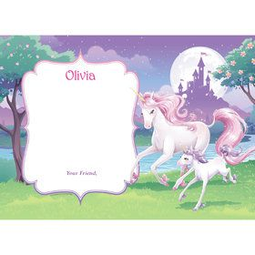 Unicorn Personalized Thank You (Each)