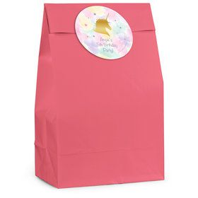 Unicorn Sparkle Personalized Favor Bag (12 Pack)