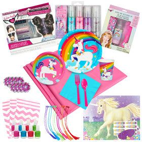 Unicorn Ultimate Experience Party Pack for 8