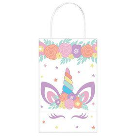 Unicorn Party Favor Kraft Bags (8)
