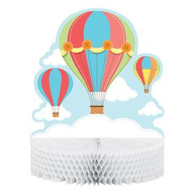 Up, Up, & Away Centerpiece