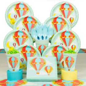Up, Up & Away Deluxe Tableware Kit (Serves 8)