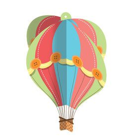 Up, Up, & Away Hanging Decoration