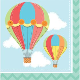 Up, Up, & Away Lunch Napkin (16 Count)