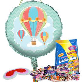 Up, Up & Away Pull String Economy Pinata Kit