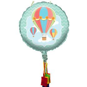 Up, Up & Away Pull String Pinata