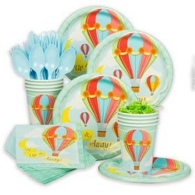 Up, Up & Away Standard Tableware Kit (Serves 8)