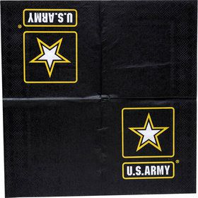 US Army Beverage Napkin with Logo (16)